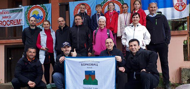 """Planinarski klub """"Borkovac"""" Ruma učestvovao je u 2. kolu Vojvođanske treking lige za 2019. godinu, koje je održano na Vršačkim planinama u subotu 13. aprila. Za rumski klub takmičilo se […]"""
