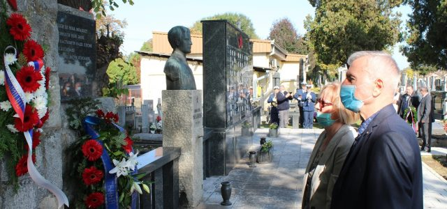 Polaganjem venaca na Gradskom groblju u Rumi danas je obeležen Dan oslobođenja ovog grada u Drugom Svetskom ratu. U organizaciji Saveza boraca Opštine Ruma, obeležavanju pobede nad fašizmom prisustvovali su […]