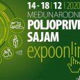 Međunarodni poljoprivredni sajam u Novom Sadu ove godine će zbog epidemiološke situacije po prvi put biti održan onlajn, a svi programi biće dostupni od 14. do 18. novembra na platformiexpoonline.rs.Posredstvom […]